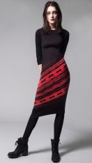 LADY LUCK 4-WAY SHAPER COLUMN DRESS (REVERSIBLE)