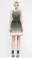Daytona Grid Pleated Skirt