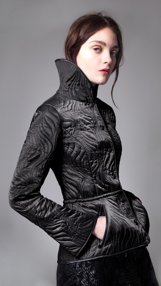 POWER GIRL QUILTED JACKET
