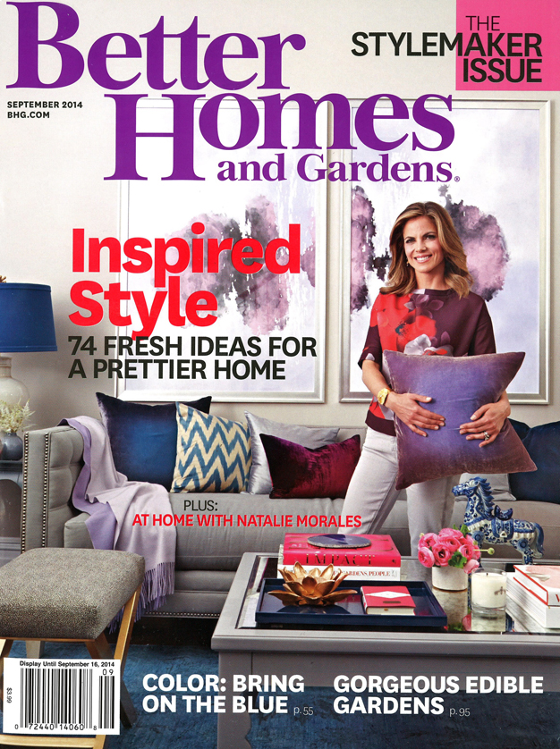 BetterHomes&Gardens - September COVER