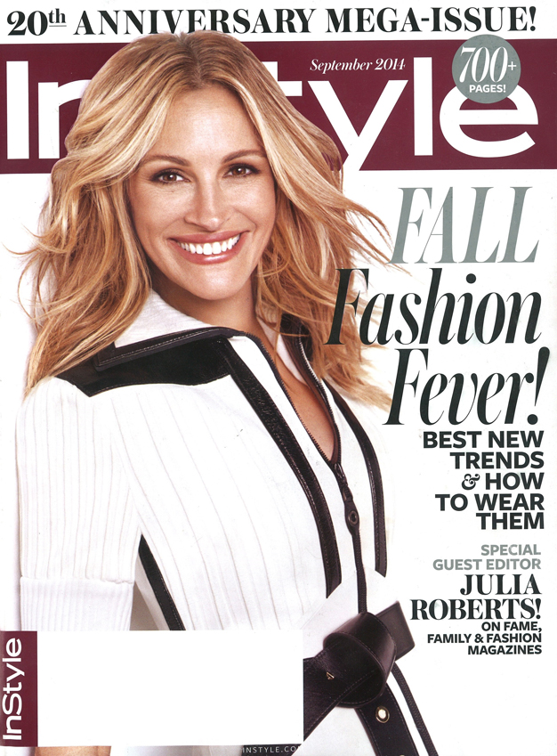 InStyle - September 2014 COVER