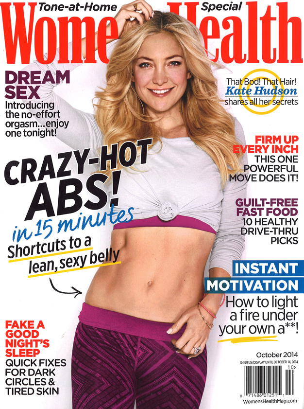 Women's Health - October 2014 - Cover