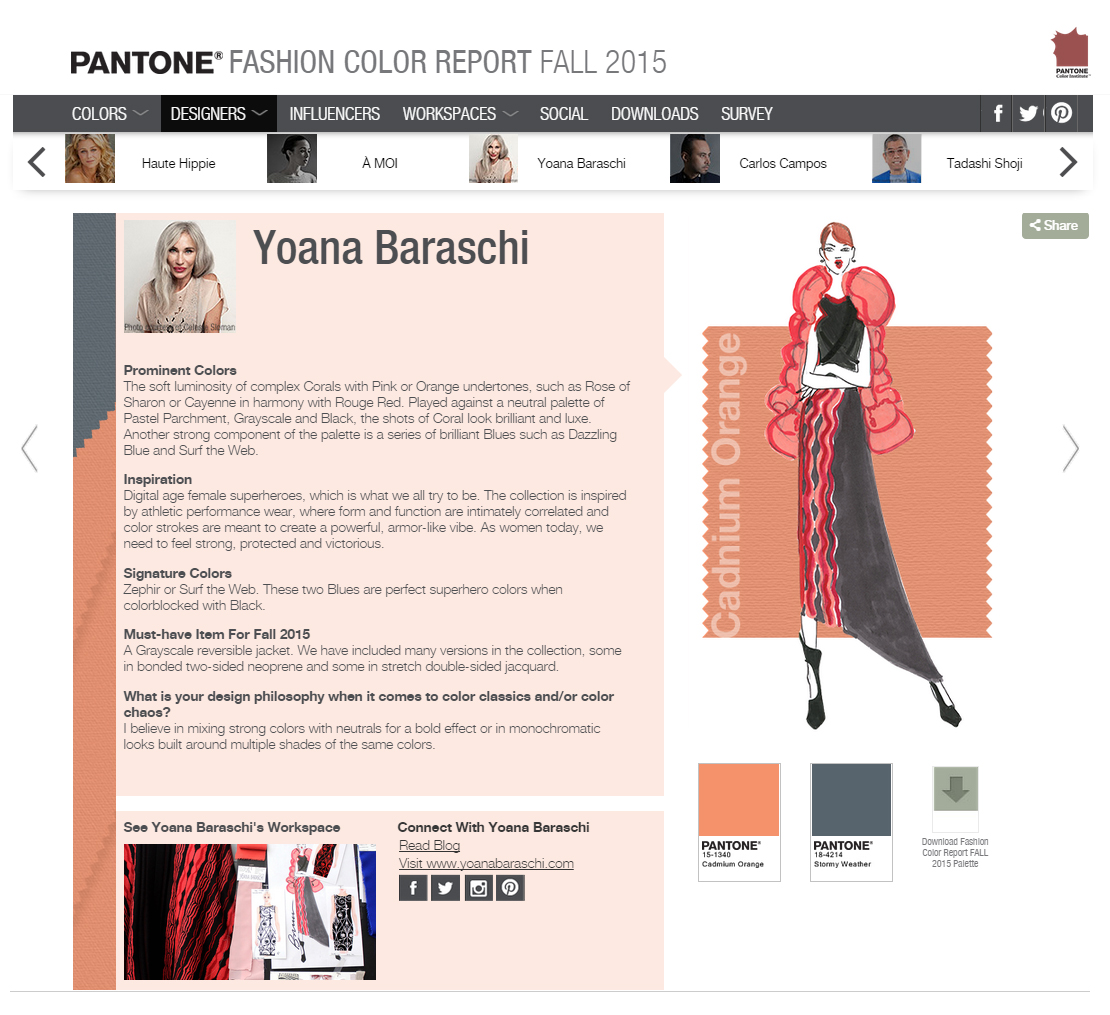 PANTONE Color Report F15
