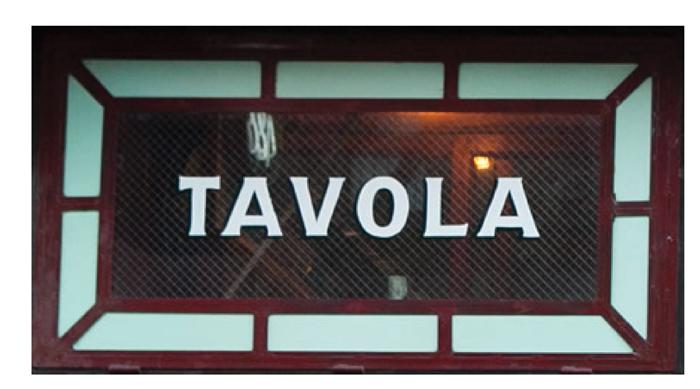 yoana baraschi Tavola Resturant